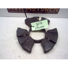 Achtertandwiel rubbers Kawasaki GPX750 R 1987-89