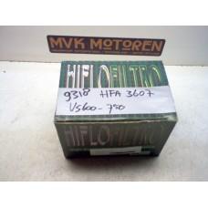 Luchtfilter HFA 3607 Suzuki VS600/750/800 1985-2000