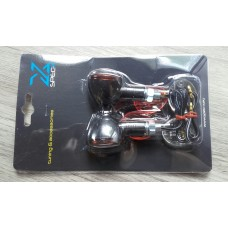 Richtingaanwijzer set Mini-bullet 12V-21W