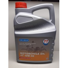 77 lubricants - Motorfietsolie 4T 10W-40 4 Liter