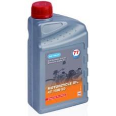 77 lubricants - Motorfietsolie 4T 15W-50 1 Liter