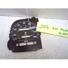 Wijzerplaat mijlenteller K100